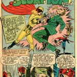 Silver Scorpion - Golden Age Female Superhero
